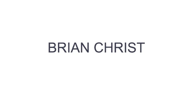 Brian Christ