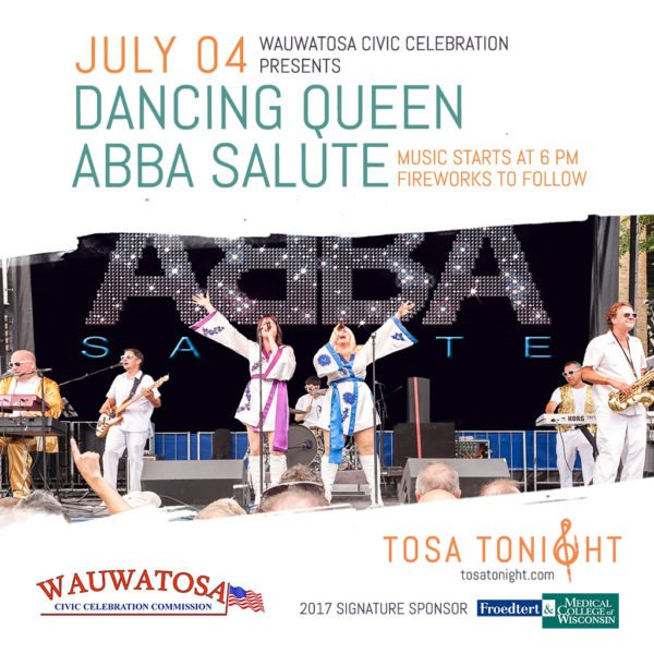 Dancing Queen Abba Salute