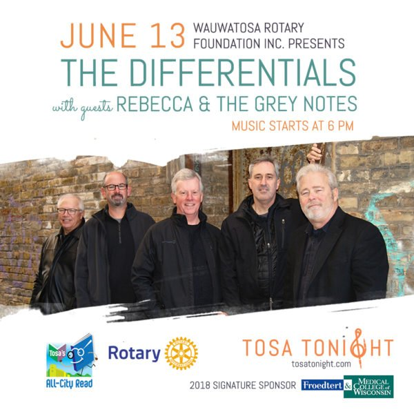 The Differentials w/ Rebecca & the Grey Notes