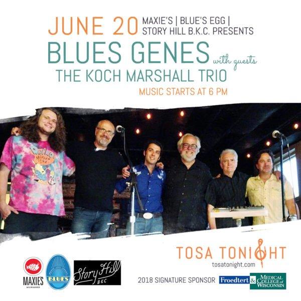 Blue Genes w/ the Koch Marshall Trio